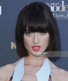 Model Lacey Rogers arrives at 'America's Next Top Model' Cycle 22 Premiere Party at Greystone Manor on July 28, 2015 in West Hollywood, California.