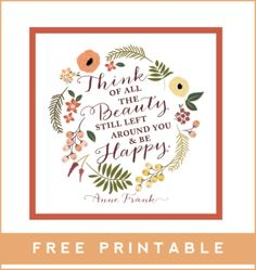 Fall Friday Freebie