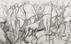 Norman Cornish - Bar scene with greyhound is available for sale at Castlegate House Gallery. Norman Cornish, Bar Scene, Paintings For Sale, Contemporary Art, Drawings, Artists, Google Search, Sketches, Drawing