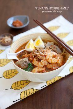 Penang Hokkien Mee Recipe (Prawn Mee). #malaysianfood #noodles #recipe