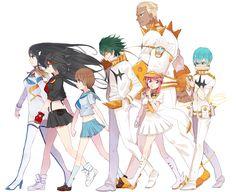 Kill La Kill, Manga Anime, Anime Art, Golden Warriors, Akame Ga Kill, Cool Animations, Anime Comics, Magical Girl, Kawaii Anime