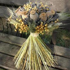 Obľúbené fotky | Modrastrecha.sk Bunch Of Flowers, Dried Flowers, Lavender Crafts, Summer Diy, Flower Crafts, Fall Crafts, Altar, Flower Pots, Floral Arrangements