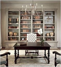 Fancy office for her / Lawyer's office / Home office