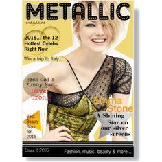 Metallic Magazine... create your cover