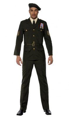 Deguisement Officier Militaire – Adulte