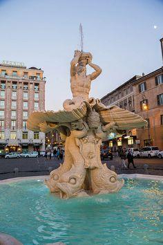 Fontana del Tritone, Rome