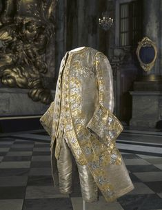 King Gustave III of Sweden's fabulous wedding clothes, Historical Costume, Historical Clothing, Baroque, French Rococo, 17th Century Fashion, 18th Century, Hoop Skirt, Uniform Dress, Power Dressing