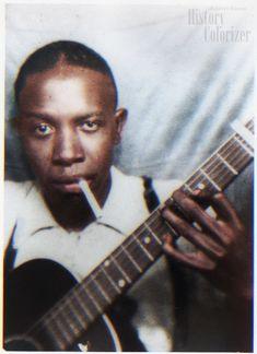 Legendary bluesman Robert Johnson