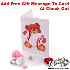 Add a Valentine's Day card to your Baseball Rose order! A one-of-a-kind limited-edition Valentine's Day greeting card specially designed for baseball fans by Sports Roses creator Mark Ellingson.     $4.95    http://store.sportsroses.com/baseball-valentines-day-greeting-card-p480.aspx