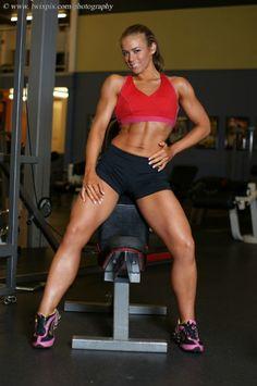My motivation person, Tiffany Forni