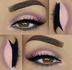 Eye Makeup Tips – How To Apply Eyeliner Makeup Goals, Love Makeup, Makeup Inspo, Makeup Inspiration, Makeup Tips, Beauty Makeup, Makeup Ideas, Neutral Makeup, Gray Eye Makeup