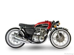 Honda CB 500 cafe racer by RocketGarage Cafe Racer Honda, Cb 500 Cafe Racer, Style Cafe Racer, Cafe Racer Bikes, Cafe Racer Motorcycle, Motorcycle Design, Motorbike Girl, Cafe Style, Motos Honda