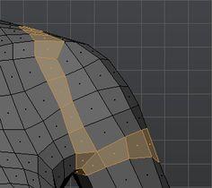 Shoulder topology front