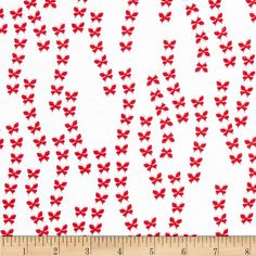Michael Miller Rouge Et Noir Crossing Paths Red from @fabricdotcom%0A%0ADesigned by Tamara Kate for Michael Miller, this cotton print is perfect for quilting, apparel and home decor accents. Colors include black and white.