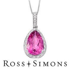 Pink Topaz #Necklace