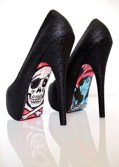 No se si me gusta más el zapato o la suela
