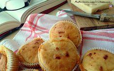 Muffin bacon, cipolla e formaggio