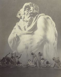 William Mortensen - Beelzebub, 1926