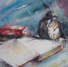 Catherine Rey WATERCOLOR #watercolor jd