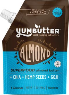 Yumbutter - Superfood Almond Butter - 7 oz