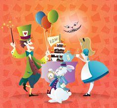Tea Party in Wonderland by Coolgraphic on @DeviantArt