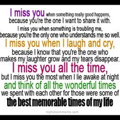 I miss my bro so so so much, i think about him all the time, and i just want him to come back:*(