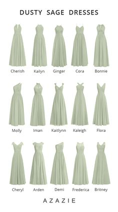 Dec 2019 - Shop for a large variety of dusty sage bridesmaid dresses at Azazie. With bridesmaid dresses from Azazie, you are sure to find a dusty sage bridesmaid dress for the perfect look for your wedding. Sage Bridesmaid Dresses, Bridesmaids And Groomsmen, Wedding Bridesmaids, Mint Green Bridesmaids, Sage Dresses, Best Wedding Dresses, Wedding Attire, Minimal Wedding Dress, Sage Green Dress
