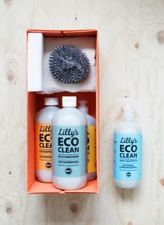 Lilly´s eco clean Packaging Design, Branding Design, Nordic Design, Season Colors, Cleaning, My Love, Fair Trade, Wrapping, Attitude