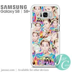 Miley Cyrus College Photo Phone Case for Samsung Galaxy S8 & S8 Plus
