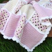 Sweet Dreams Baby Blanket - via @Craftsy