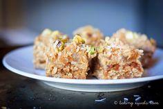 baking = love: Anzac Ginger Caramel Slice