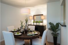 Refreshed Budget Dining Room - Home and Garden Design Ideas