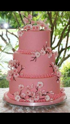 Tortas/CupCake y dulces Cakes / CupCake and sweets Fancy Cakes, Cute Cakes, Pretty Cakes, Cake Icing, Fondant Cakes, Cupcake Cakes, Beautiful Wedding Cakes, Beautiful Cakes, Dream Wedding
