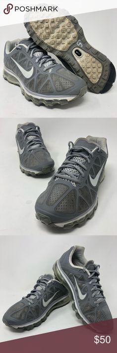 81bea98f58aa Nike Air Max 2011 Grey White Shoes Sz 9 429890-010 Nike Air Max. White Running  Shoes WomensNike ...