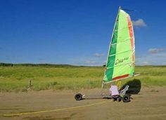 Sail-o-Kart Strandsegler - der vielseitige