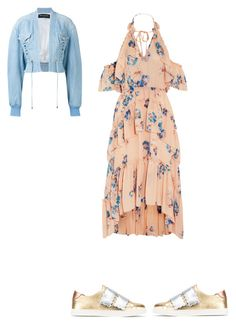 """""""Untitled #587"""" by aayushi3912 on Polyvore featuring Fendi, Ulla Johnson and Balmain"""