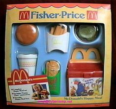 My little one will not let me throw out or donate that hand-me-down happy meal box. Jouets Fisher Price, Fisher Price Toys, Vintage Fisher Price, 90s Childhood, My Childhood Memories, Baby Girl Toys, Toys For Girls, Retro Toys, Vintage Toys