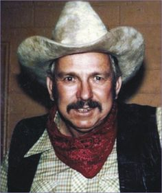 """Slim Pickens ~ (6/29/1919 - 3/27/1983) rodeo cowboy, rodeo clown, and character actor. A participant in the biggest fist fight ever seen at The Cow Palace in San Francisco......a legend in his own time!  His """"partner"""" in this was Phil Stadtler who was truly a legend. Read Phil's book """"I Made a Lot of Tracks""""  Absolutely wonderful book!"""