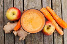 Apfel Karotten Smoothie