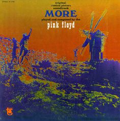 "Pink Floyd. ""More"". [1969] http://www.graphicsvenue.com/wp-content/uploads/2013/07/pink-floyd-album-covers-031.jpg"