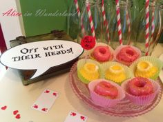 Diy Food, Wonderland, Birthday Cake, Desserts, Alice In Wonderland Party, Tailgate Desserts, Deserts, Birthday Cakes, Postres