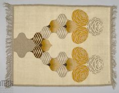 A rug designed by Karol Tichy in the beginning of the 20th century.