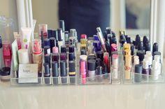 My Vanity & Makeup Organization