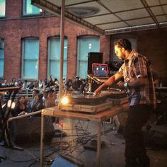 New York City - Dam-Funk live at MoMa Ps1 Warm-up party in Long Island #SasaYork #NewYork #LongIsland #Warmup2014
