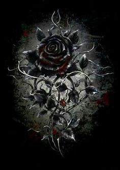 By Artist Unknown. Wallpaper… By Artist Unknown… Gothic Wallpaper, Skull Wallpaper, Heart Wallpaper, Butterfly Wallpaper, Cellphone Wallpaper, Galaxy Wallpaper, Gothic Fantasy Art, Beautiful Fantasy Art, Beautiful Roses