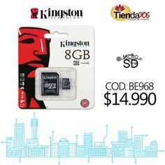 Memoria Micro SD Kingston Class 4 8GB