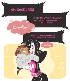 Undertale- Mettaton and Frisk #Game