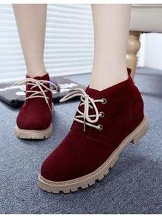 Giày boot cá tính nữ NU 508