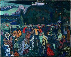 Kandinsky's The Colorful Life
