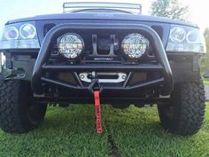WJ Hidden Winch Mount - 1999 to 2004